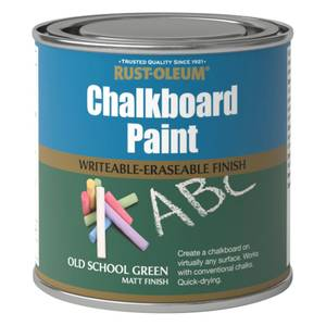 Rust-Oleum Chalkboard Old School Green Paint - 250ml