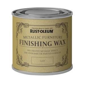 Rust-Oleum Metallic Furniture Finishing Wax Gold - 125ml