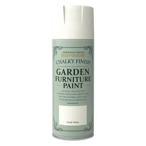 Rust-Oleum Garden Furniture Spray Paint Chalk White - 400ml
