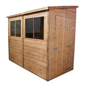 Mercia 8 x 4ft Premium Pent Wooden Shed