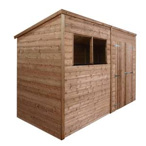 Mercia 10x8ft Pressure Treated Pent Wooden Shed