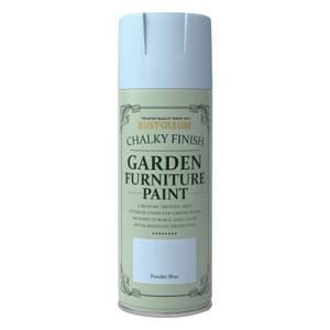 Rust-Oleum Garden Furniture Spray Paint Powder Blue - 400ml