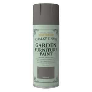 Rust-Oleum Garden Furniture Spray Paint Anthracite - 400ml