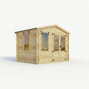Mercia 3m x3.3m Sherwood 19mm Log Cabin