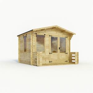 Mercia 3.3 x 3.7m Sherwood Log Cabin
