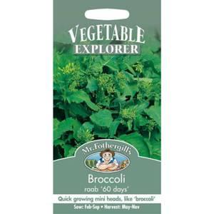 Mr. Fothergill's Broccoli Raab 60 Days Seeds