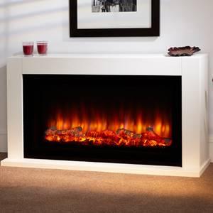 Suncrest Lumley Electric Fireplace Suite