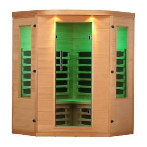 Canadian Spa Aspen Far Infrared Corner 4 Person Sauna