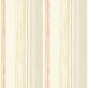 Grandeco Painterly Stripe Pastel Pink Wallpaper