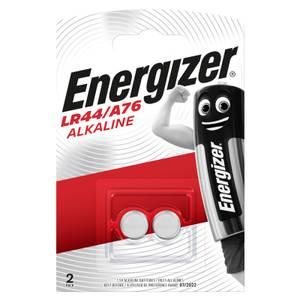Energizer LR44 Alkaline Button Batteries - 2 Pack