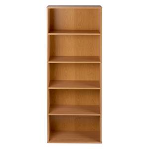 5 Tier Bookcase - Oak