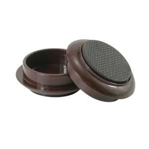 Castor Cups - Non-Slip Round - 4 Packk
