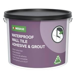Homebase Adhesive & Grout - 13.8kg