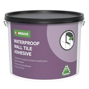 Homebase Adhesive White - 10L