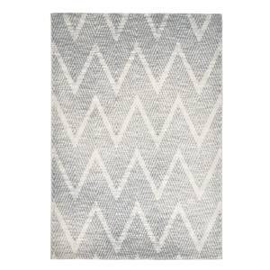 Zigzag Rug 120x170cm Cream & Charcoal