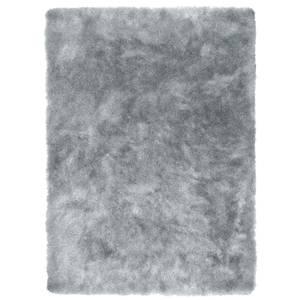Fine Sparkle Shaggy Rug 120x170cm Silver