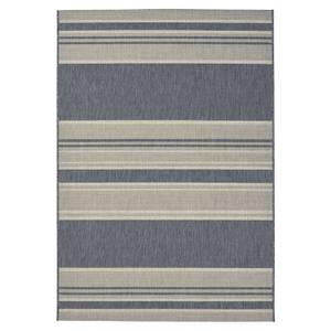 Flatweave Stripes Rug 120x170cm Grey