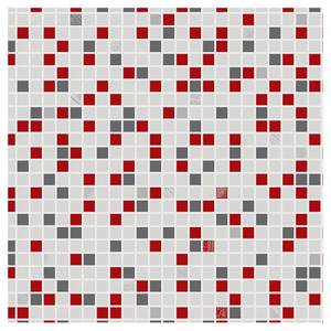 Contour Checker Red Wallpaper