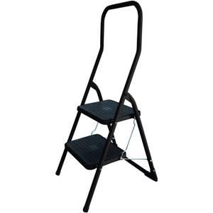 Abru High Handrail Stepstool - 2 Step