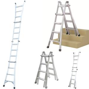 Werner Multi-Purpose Telescopic Combination Ladder - 4x4