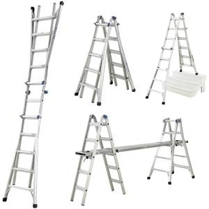 Werner Multi-Purpose Telescopic Combination Ladder - 4x5