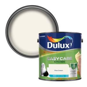 Dulux Easycare Kitchen Fine Cream Matt Paint - 2.5L