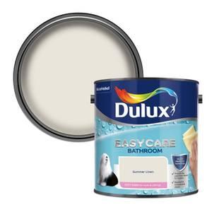 Dulux Easycare Bathroom Summer Linen Soft Sheen Paint - 2.5L