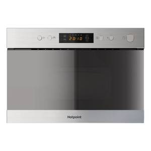 Hotpoint MN314 IX H Built-in Microwave Grill - Stainless Steel