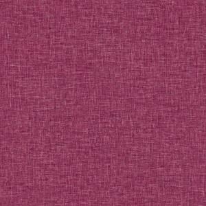 Arthouse Linen Texture Plain Textured Raspberry Wallpaper