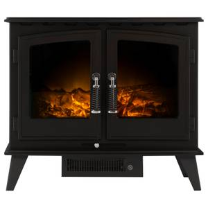 Adam Woodhouse Electric Stove in Black