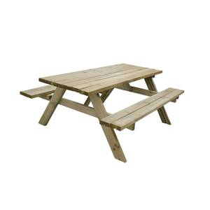 Rectangular Picnic Table - Large