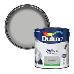 Dulux Chic Shadow - Silk Emulsion Paint - 2.5L