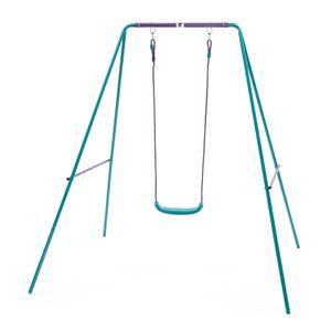 Plum Single Swing Set - Purple/Teal