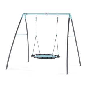 Plum Premium Metal Nest Swing with Mist