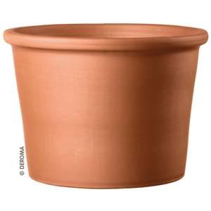 Deroma Terracotta Border Cylinder Plant Pot - 12cm