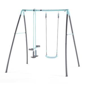 Plum Premium Metal Single Swing & Glider with Mist