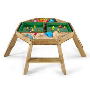 Plum Wooden Octagonal Activity Table