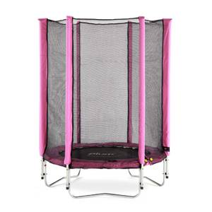 Plum 4.5ft Junior Trampoline & Enclosure - Pink
