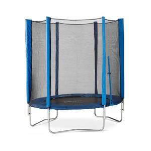Plum 6ft Junior Trampoline & Enclosure - Blue