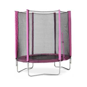 Plum 6ft Junior Trampoline & Enclosure - Pink
