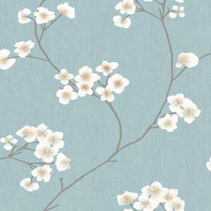 Superfresco Easy Paste the Wall Radiance Blue & Cream Wallpaper
