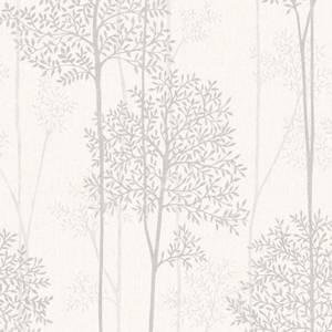 Superfresco Easy Paste the Wall Innocence Eternal Wallpaper - White & Mica