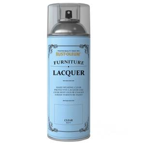 Rust-Oleum Spray Furniture Lacquer Sealer Clear - 400ml