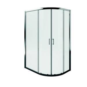 Aqualux Offset Quadrant Shower Enclosure - 1000 x 800mm