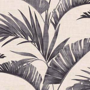 Arthouse Banana Palm Tree Smooth Charcoal Wallpaper