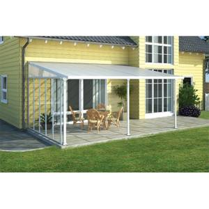 Palram Patio Cover 4 Side Wall Awning White
