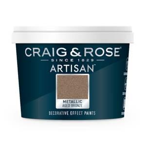 Craig & Rose Artisan Metallic Effect Paint - Aged Bronze - 100ml