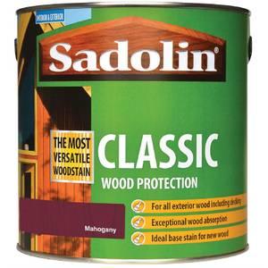 Sadolin Classic Woodstain - Mahogany - 2.5L
