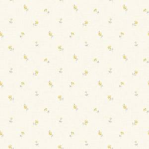 Grandeco Ditsy Floral Yellow Paste the Wall Wallpaper