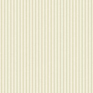 Grandeco Ticking Stripe Gold Paste the Wall Wallpaper